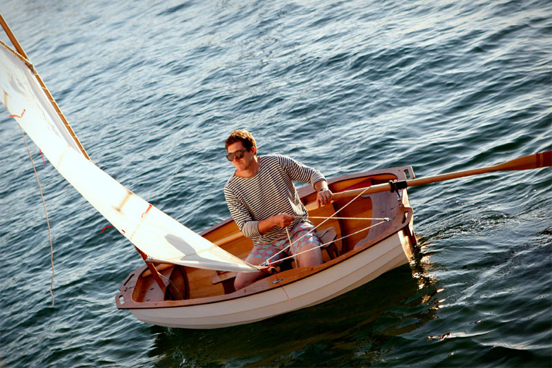 Build your own sailboat with Balmain's DIY boating kit - FAN THE FIRE