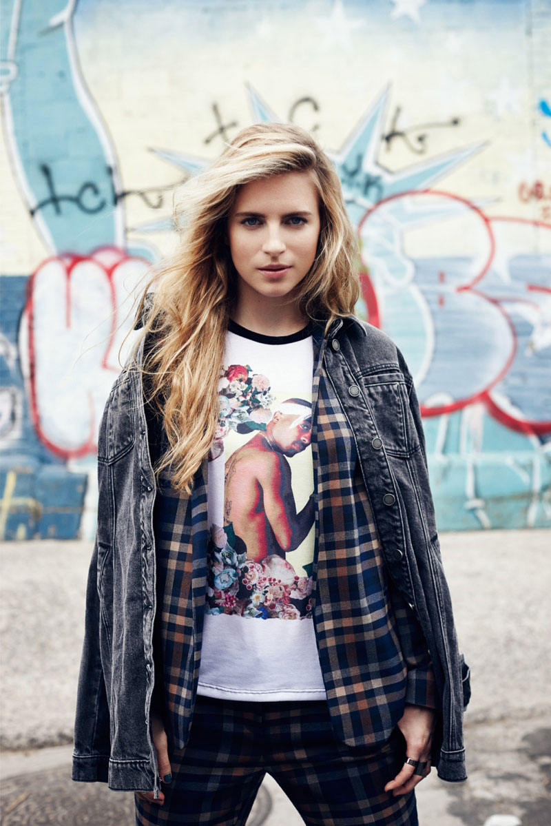 Brit Marling Goes Punk For Asos Magazine Fan The Fire