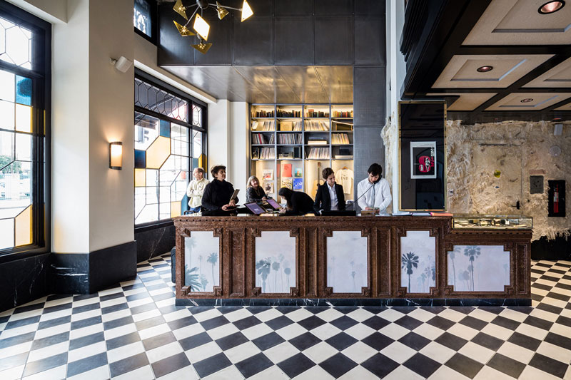 The london list abroad ace hotel open their doors in for Ace hotel brooklyn
